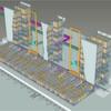 Mechanisierter Warenausgangspuffer optimiert den Versand von Paletten
