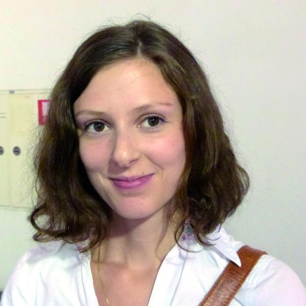 """""""Ich komme von der Universität Mainz und schreibe an meiner Doktorarbeit. Dort arbeite ich mit Nanopartikeln."""