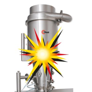 The ProCell LabSystem has been tested at a notified body in order to determine the maximum explosion pressure. This independent institute confirmed the explosion protection concept, the manufacturer states.