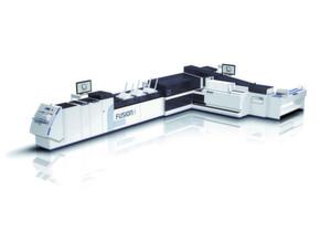 Die Fusion Cross schafft – basierend auf der völlig neuen Kuvertiertechnik - eine Verarbeitungsgeschwindigkeit von 16.000 bis 22.000 Kuvertierungen pro Stunde, abhängig vom Format.