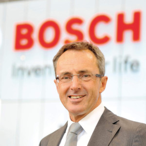 Bosch's Packaging Technology Group Executive Management Chairman Friedbert Klefenz