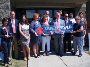 Das Werma-Team in den USA bei der Neueröffnung