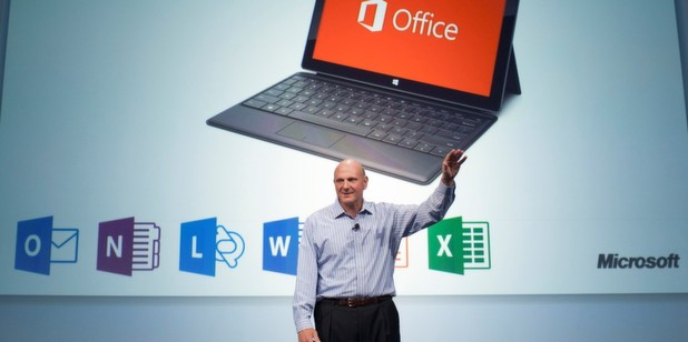 Microsoft-CEO Steve Ballmer stellte in San Francisco das neue Office 365 im Windows-8-Design als Preview vor.