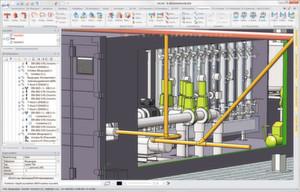 Hicad 2012 bietet zahlreiche Neuerungen für den Anlagenbau.