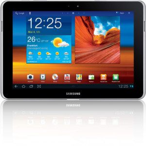 Das Galaxy Tab 10.1N schmckt sich den Richtern zufolge nicht mit Apple-Federn.