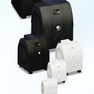 Alamtec's E-Series plastic AODD pump offers fulll containment for the safe transfer of acids.