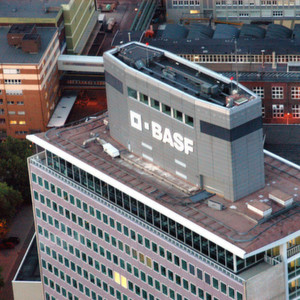 The main factory of BASF is in Ludwigshafen on the Rhine.