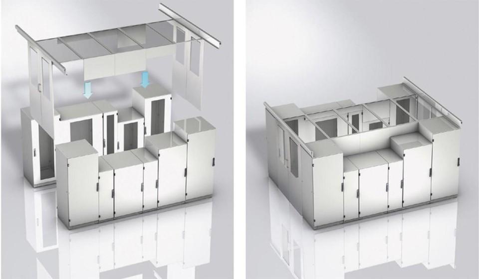 k hlung f r kleine server r ume. Black Bedroom Furniture Sets. Home Design Ideas