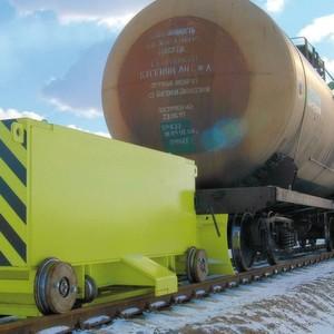Vollert-Normalspurschubwagen für Sackgleise können bis zu 4000 t schwere Züge bewegen.