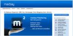 Der deutsche Online-Dienst MacBay.de stammt noch aus der Zeit von MobileMe und bietet auch Webspace und Fax.