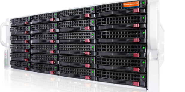 Als Basis des Systems dient der Unified Storage Server SC 846 von der Thomas Krenn AG.