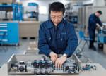 Produktion von Festo in China: Kunden in China erwarten die gleiche Qualität, den gleichen Service und die gleiche Liefertreue wie Kunden in Europa.