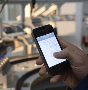 Die Fabrik per Handy-App steuern: faktisch geht das schon...