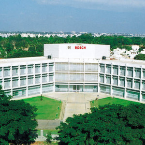 Bosch facility in India. The country regards Asia, Africa and the Middle East as major global regions for growth.