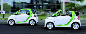 Der E-Smart steht ab Sptsommer als Cabrio beim Hndler.