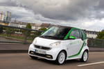 Die dritte Generation des elektrischen Smart, dem Smart Fortwi Electric Drive. Mit ihm will Daimler die Elektromobilitt einer breiten Masse zugnglich machen.