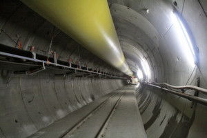Am Brennerbasistunnel wird weiter gearbeitet, auch wenn in Österreich die Diskussion um den Tunnel voll entbrannt ist.