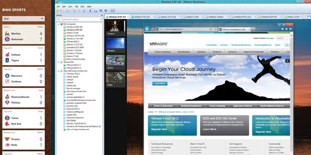 VMware Workstation - известная программа для виртуализации систем. . VMwar