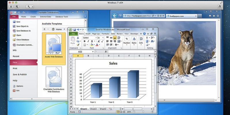 VMware Fusion 5 wurde für Mountain Lion entwickelt.