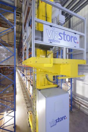 Viastore realisiert für das Pharmaunternehmen Medice ein vollautomatisches Hochregallager.