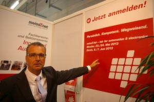 Eric Brütsch responsable du comité des expositions au sein de SwissT.net.