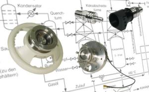 Verschiedene RFID Kupplungen, teilweise zusätzlich mechanisch kodiert und mit Näherungsinitiatoren ausgerüstet