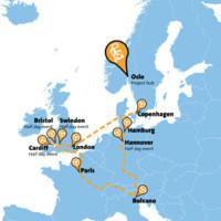Internationale Automobilhersteller starten zur European Hydrogen Road Tour