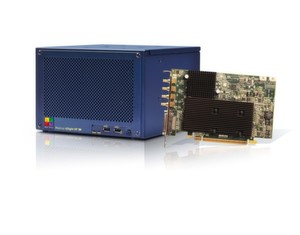 """Matrox 4Sight GP"" Industriecomputer mit ""Matrox Orion HD"" Framegrabber"