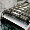 Stadtbus mit Wasserstoff-Brennstoffzellen-Technik