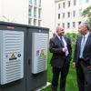 Wohn-Kraftwerk speichert Energie im Outdoor-Gehäuse von Rittal