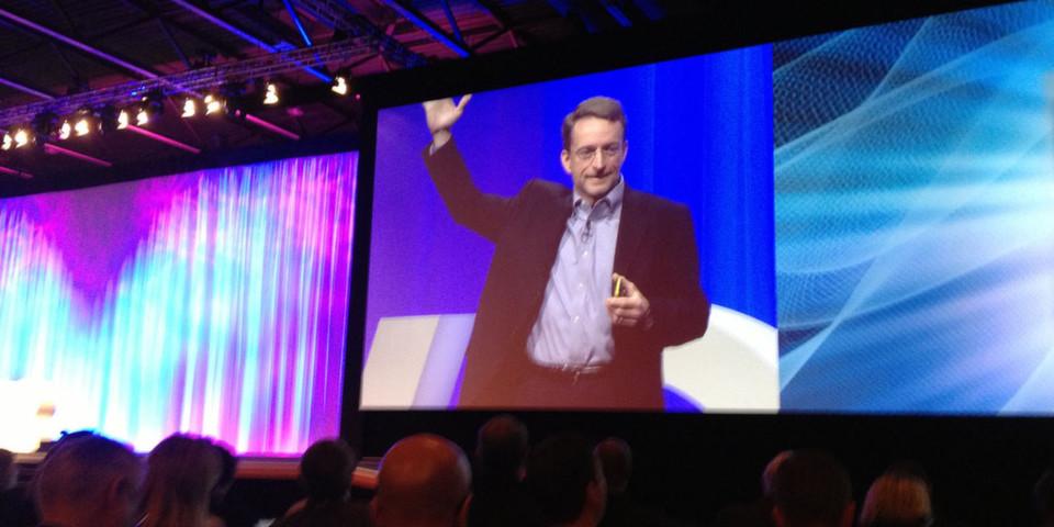 """""""In der Cloud brauchen wir andere Managementwerkeuge, die bessere Automation liefern und Multiplattform-Services unterstützen"""", sagte CEO Pat Gelsinger auf der VMworld 2012 in Barcelona."""