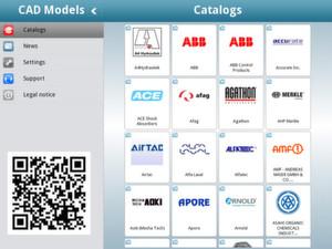 Die PARTcommunity 3D CAD Modelle App ist ein Downloadservice für 3D CAD Daten.