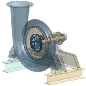 Einstufiger Turbokompressor