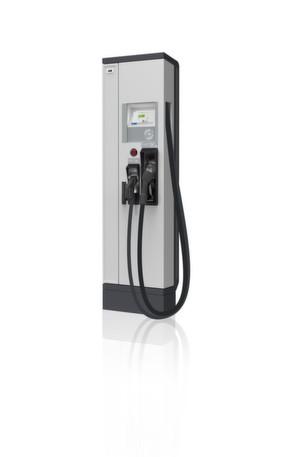 Schnellladestation für 20 kW für Wechselstrom (AC) und Gleichstrom (DC) gemäß EN 61851-1:2010 entwickelt.