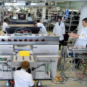 Mit dem Lean Production System für SIPLACE-Bestückautomaten wurde mittels Taktung und einer durchgängigen Pull-Steuerung die Maschinenproduktion und der Umsatz von 2008 bis 2011 verdoppelt.