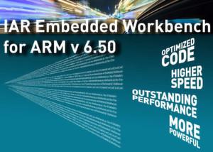 Code-Optimierungen und eine höhere Ausführungsgeschwindigkeit verspricht die Version 6.50 von IARs Entwicklungsumgebung für ARM-basierte Chips.