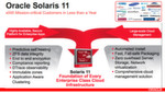 Abbildung 2: Oracle Solaris 11 wird vom Herstller als das erste Betriebssystem für die Cloud angeboten, dass es Anwendern erlaubt, Angebote als Infrastructure-as-a-Service (IaaS), Platform-as-a-Service (PaaS) und Software-as-a-Service (SaaS) für Unternehmen aufzubauen.