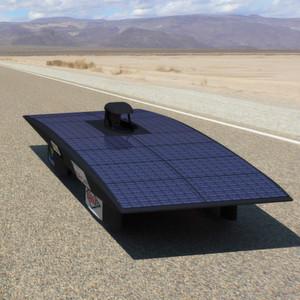 Modell des Solarfahrzeugs von Eco Solar Breizh: Mikrocontroller von Renesas übernehmen das Energiemanagement