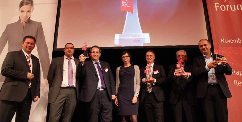Stolze Gewinner: Die ausgezeichneten Partner des Fujitsu Select Programs