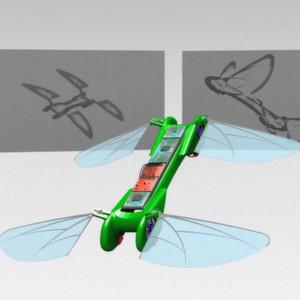 Elektrisches Mini-UAV fliegt wie ein Vogel und schwebt wie ein Insekt
