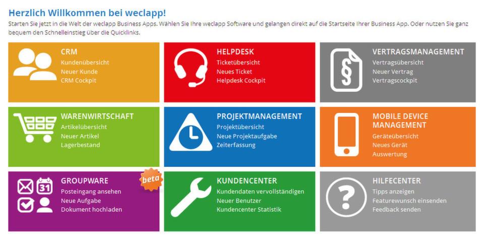 Social Business und Collaboration: Business Apps von Weclapp jetzt mit integriertem Activity Stream und neuen Kommunikationsmöglichkeiten.