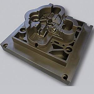 Der Werkzeugkern mit konturnaher Kühlung zur Herstellung von Endteilen aus Kunststoff zeigt den erfolgreichen Einsatz der Additiven Fertigung im Bereich Werkzeugbau.