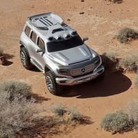 So stellt sich Daimler die Zukunft der G-Klasse vor