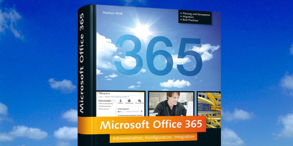 """Von der Planung, über Integration und Verwaltung bis hin zur Problembehandlung ist """"Microsoft Office 365"""" von Markus Widl ein hilfreiches Handbuch für Administratoren, Berater und Entwickler."""