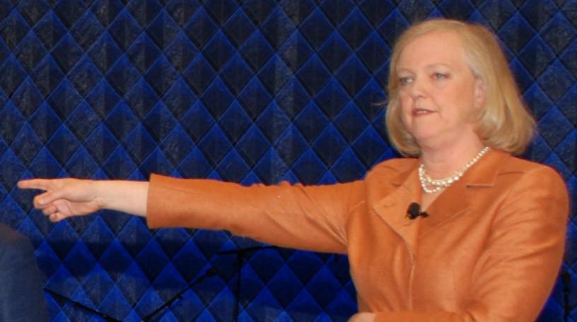 """""""Haltet den Dieb"""": HP-Chefin Meg Whitman glaubt, dass HP beim Kauf von Autonomy betrogen wurde."""