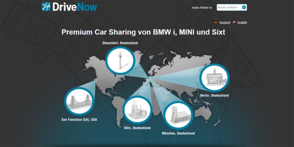 Der Carsharing-Service DriveNow setzt bei der Lokalisierung von Fahrzeugen auf Google Maps API for Business und Google Maps Navigation.