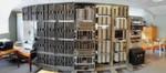 Gesamtansicht des restaurierten Harwell Dekatron Computers
