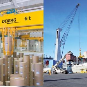 Demag cranes jetzt unter terex flagge - Terex material handling port solutions ag ...
