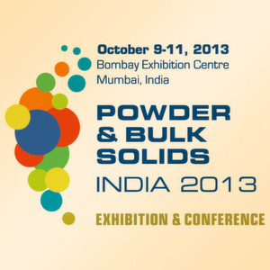 The conference board of Powder & Bulk Solids India is calling for interesting papers on urgent processing technology topics. The deadline for abstract submission is February 15, 2013. The fourth edition of Powder & Bulk Solids India will be held at the Bombay Convention & Exhibition Centre in Mumbai from October 9 – 11, 2013.