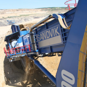 In 2009 Sandvik delivered the world's largest compact bucket wheel excavator to a lignite mine in Hungary.